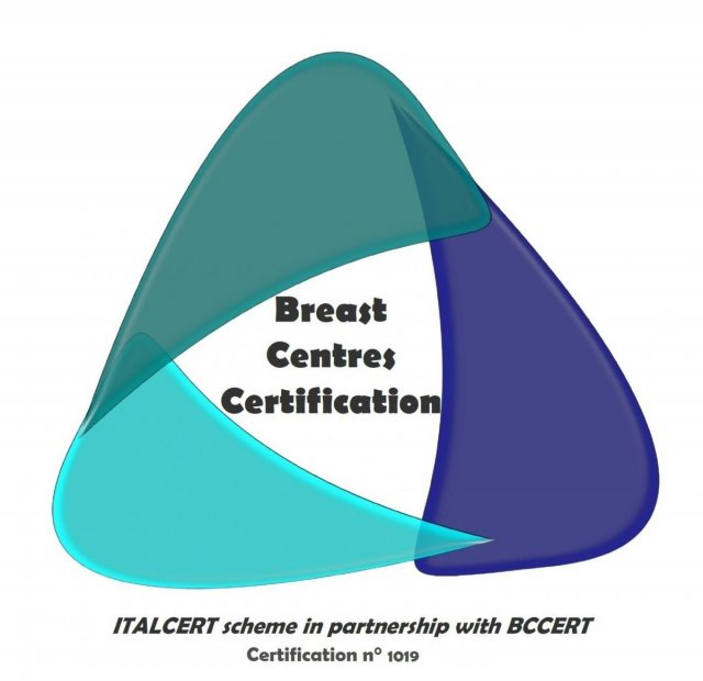 logo Breast centre certification